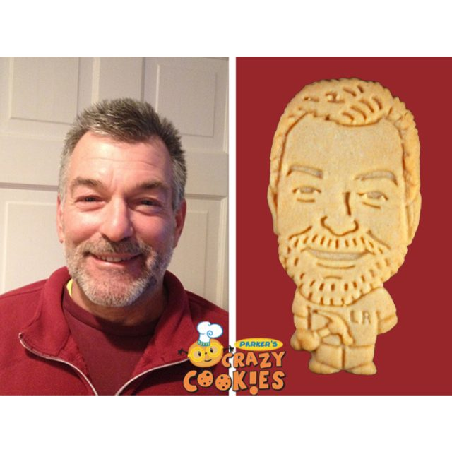 This handsome carpenter was surprised with these adorable custom cookieshellip