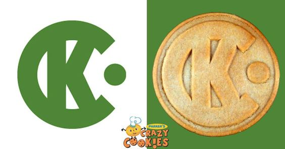 Company Logo Custom Cookies