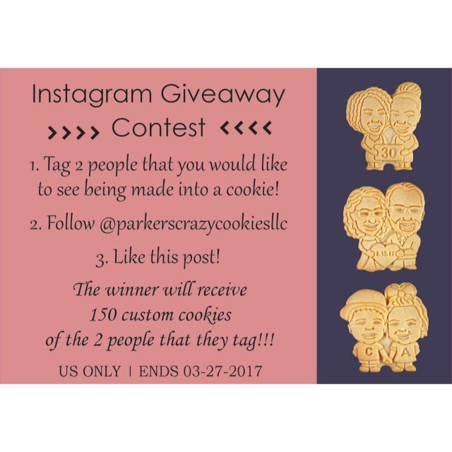 INSTAGRAM GIVEAWAY The first Instagram Giveaway was such a successhellip