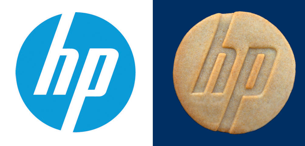 HP Custom office Party Cookies