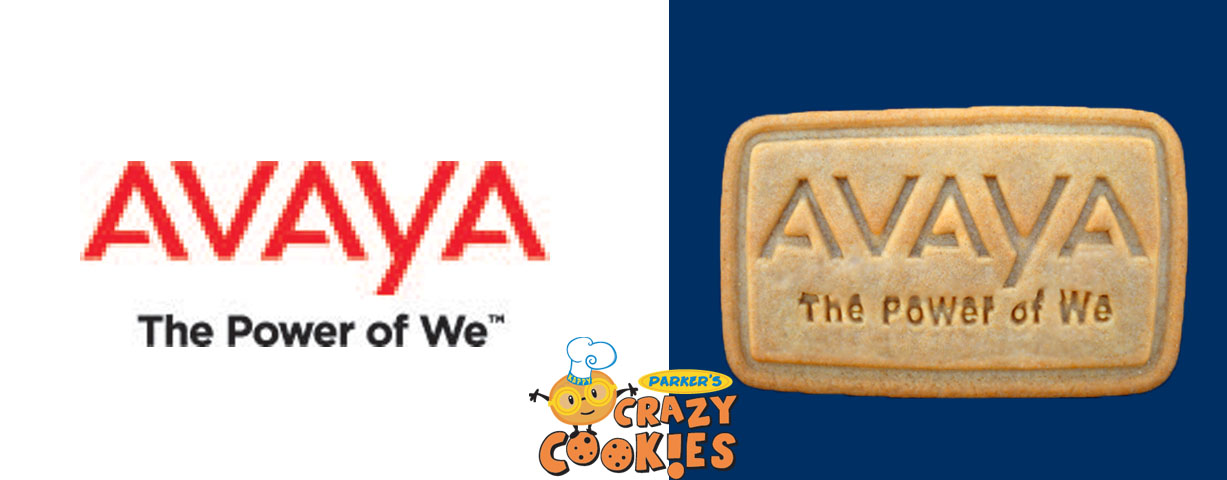 Logo cookies for your party pack