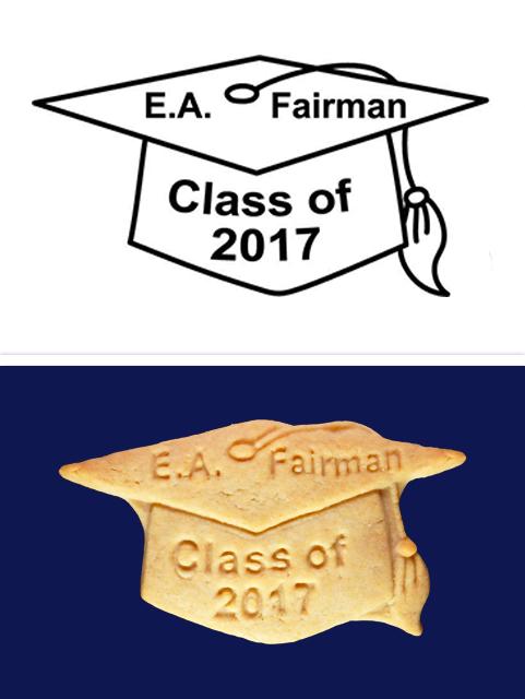 Tasty graduation favors