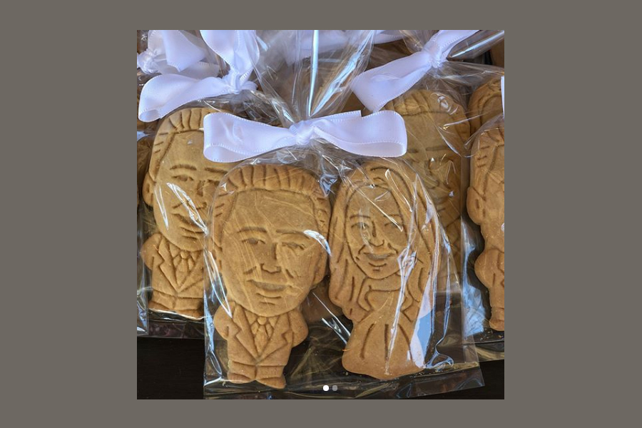 wedding party cookies