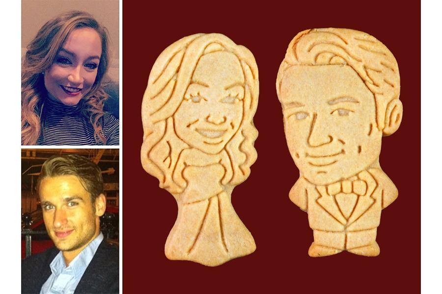 wedding cookie designs