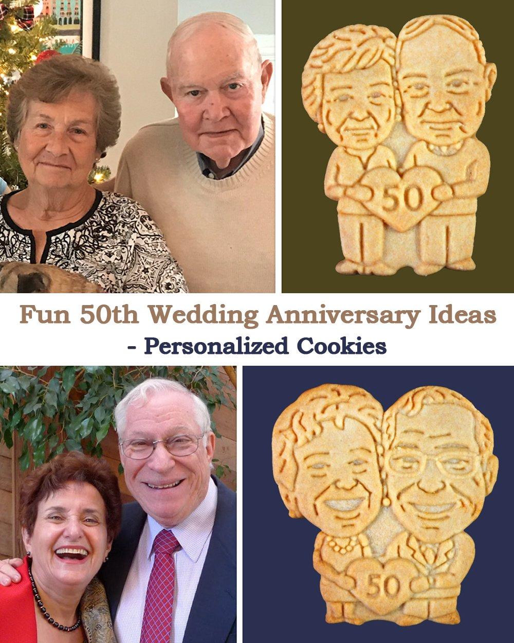 50th Anniversary Idea couple