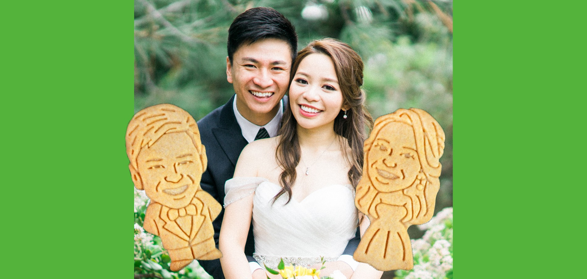 Custom Wedding coookies